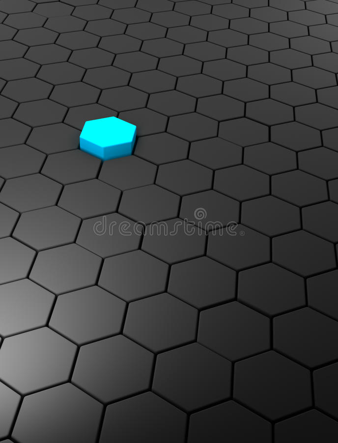 Download Abstract Background With Hexagons Stock Illustration - Image: 31913628