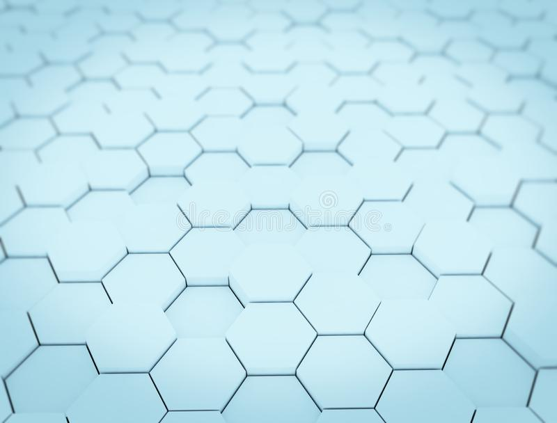 Abstract background with hexagons royalty free stock images