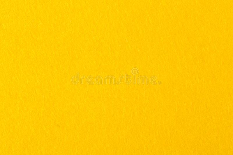 Abstract background with high quality yellow felt. royalty free stock photos