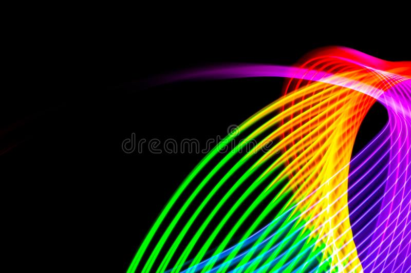 Abstract background with horizontal lines royalty free illustration