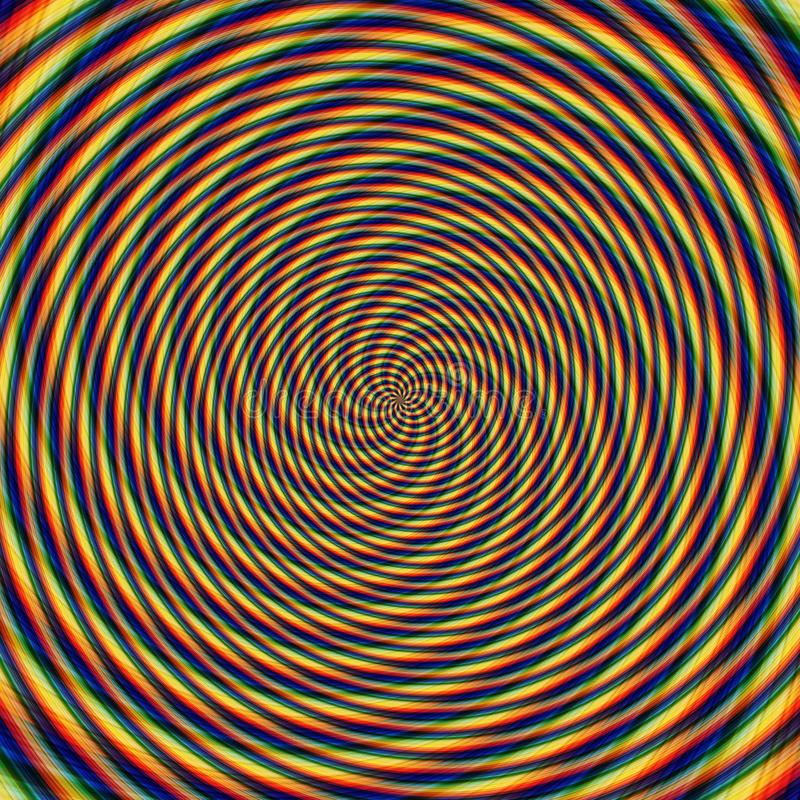 Abstract background illusion hypnotic illustration, attractive. Abstract background illusion hypnotic illustration motion spirals, attractive stock images