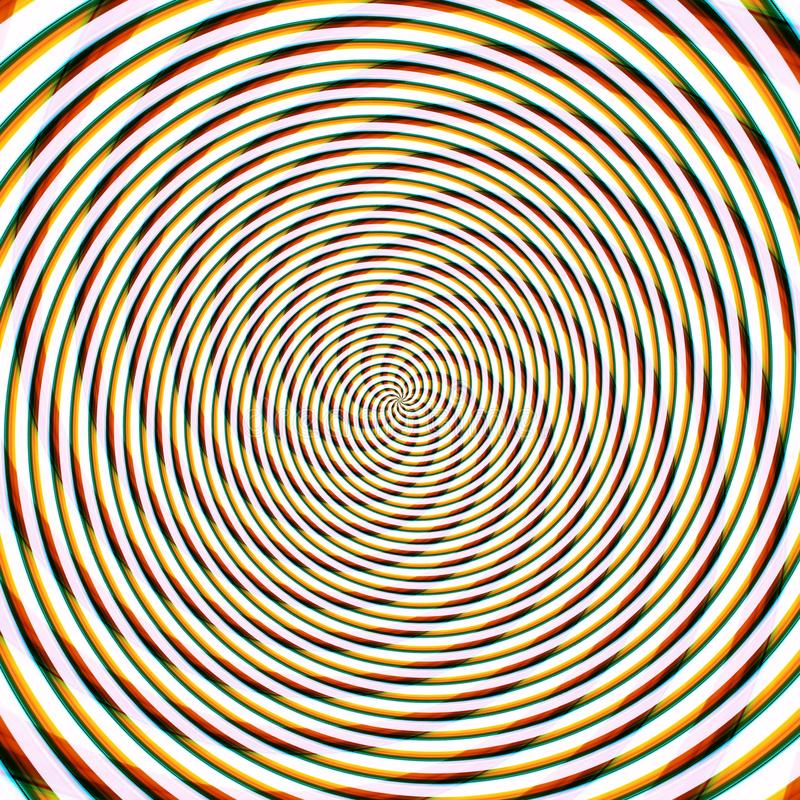 Abstract background illusion hypnotic illustration,  decoration fancy. Abstract background illusion hypnotic illustration motion spirals,  decoration fancy vector illustration