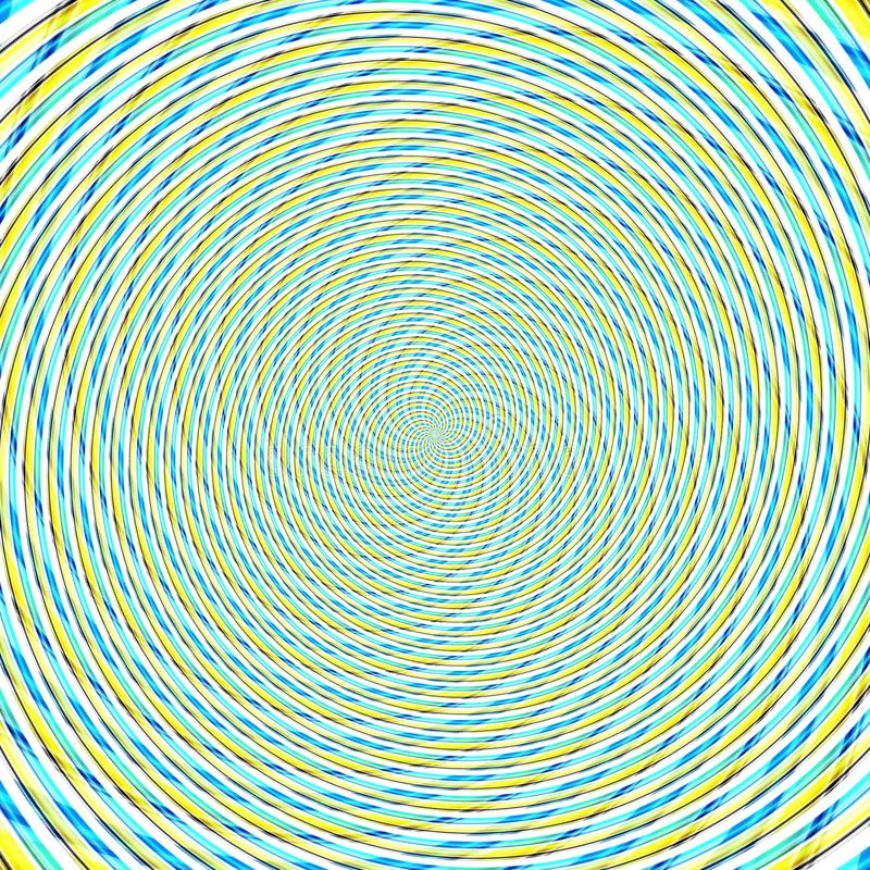 Abstract background illusion hypnotic illustration, delusion attractive. Abstract background illusion hypnotic illustration motion spirals, delusion attractive stock illustration