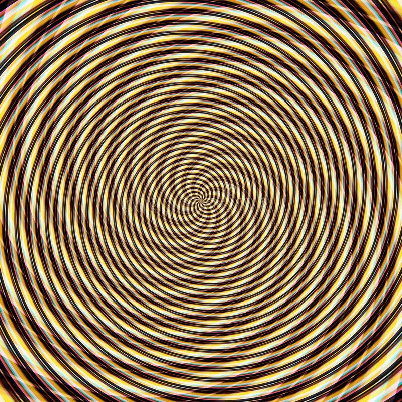 Abstract background illusion hypnotic illustration, delusion design. Abstract background illusion hypnotic illustration motion spirals, delusion design vector illustration