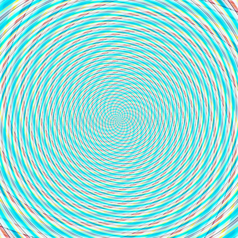 Abstract background illusion hypnotic illustration, delusion. Abstract background illusion hypnotic illustration motion spirals, delusion stock illustration