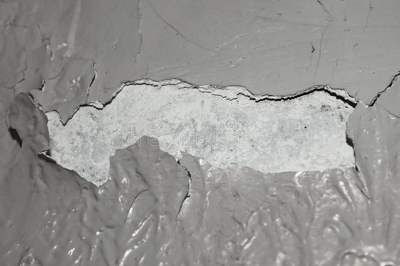 Abstract background image of cracked painted surface royalty free stock image