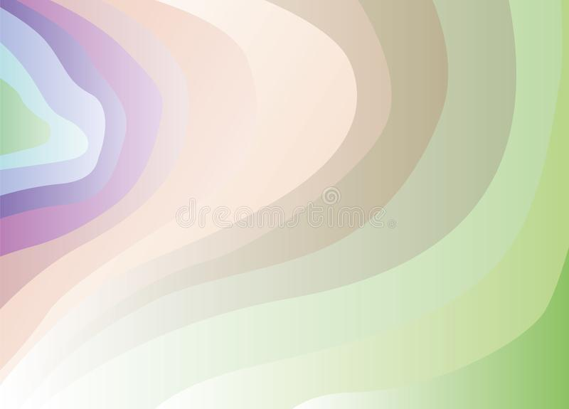 Abstract background of iridescent waves ticking in the side. Vector, esp10. Abstract background of iridescent waves ticking in the side. Zine background for the vector illustration