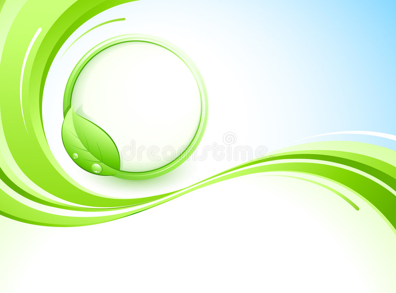 Abstract background and leaves. Design