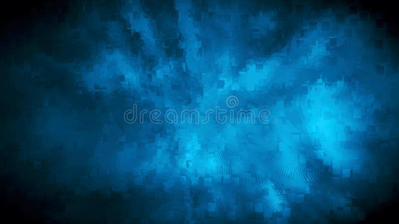 Abstract blue background block pattern texture royalty free stock photo