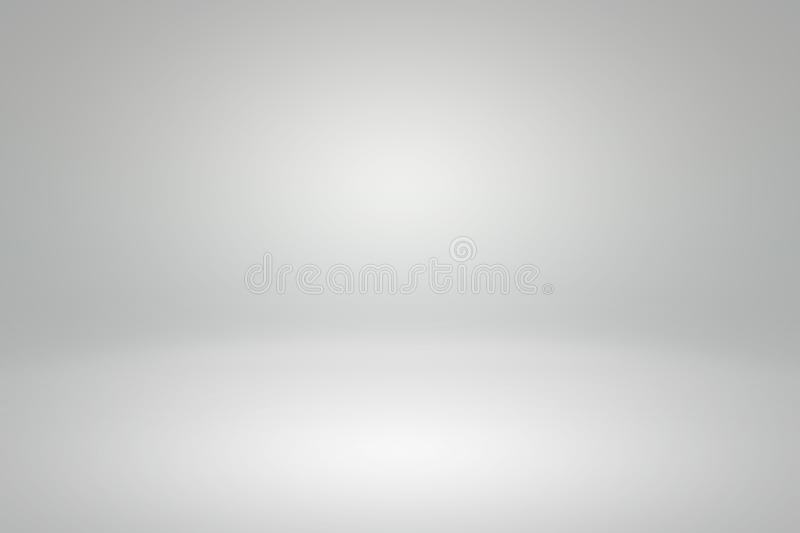 Abstract background light gray gradient studio for backdrop design bokeh composition for , website, magazine or graphic. Abstract background light gray gradient stock photo
