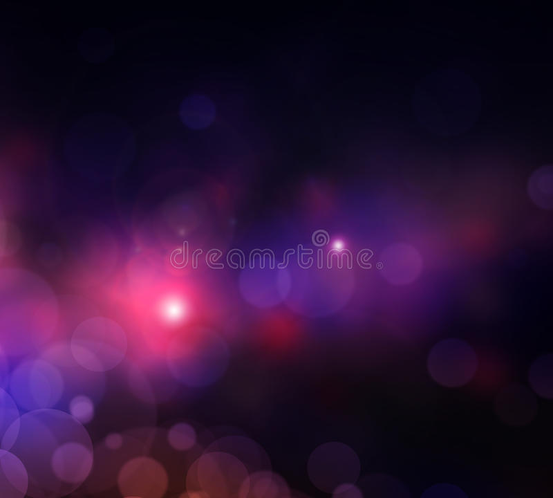 Abstract background lights city royalty free illustration