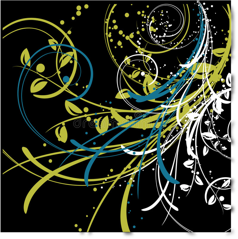 Abstract background with lines vector illustration