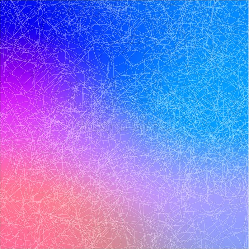 Abstract background with lines .Blue background, vector stock illustration