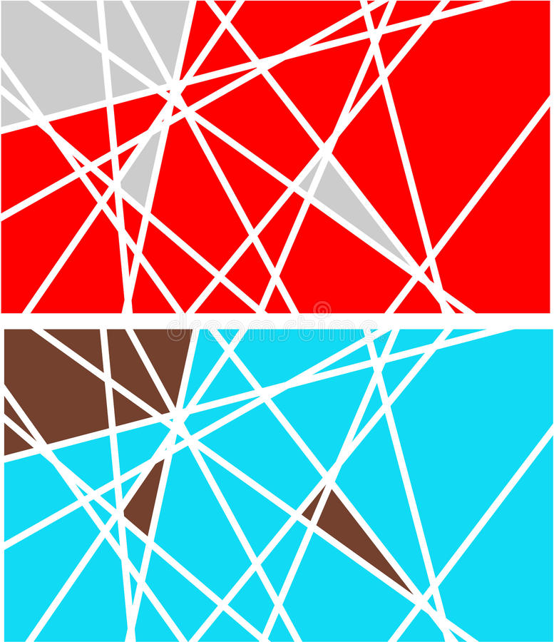 Abstract Background. With lines cuts vector illustration