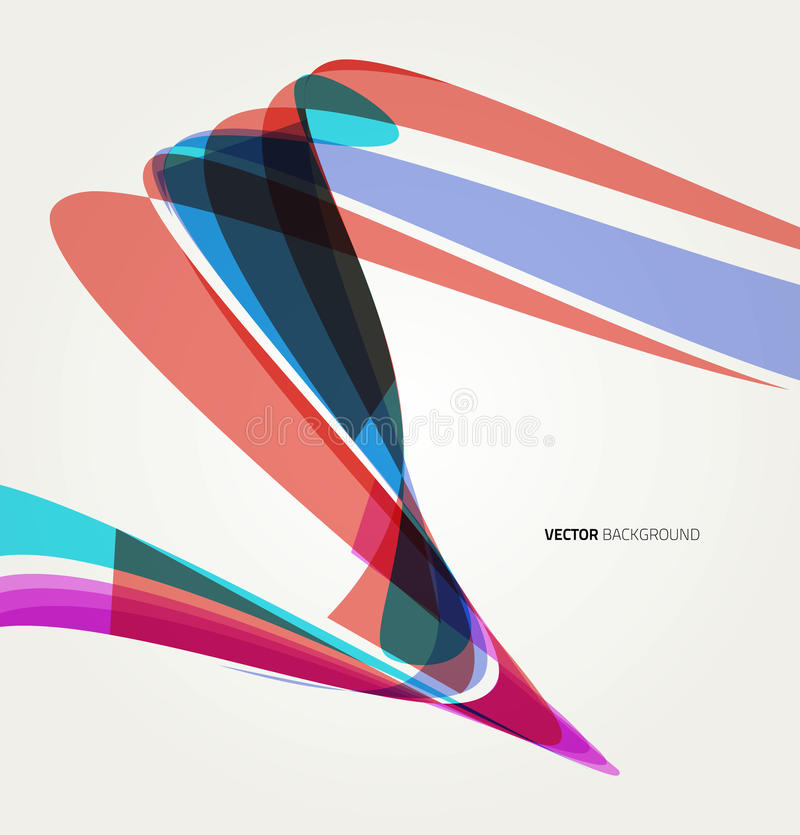 Abstract background with lines stock illustration