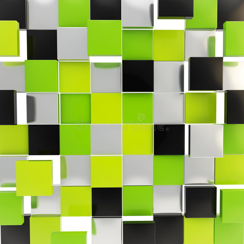 Download Abstract Background Made Of Glossy Square Plates Stock Illustration - Illustration of bright empty & Abstract Background Made Of Glossy Square Plates Stock Illustration ...