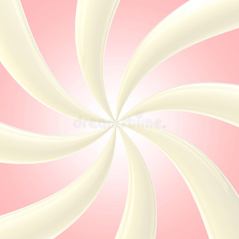 Download Abstract Background Made Of Glossy Twirls Stock Illustration - Image: 24684993