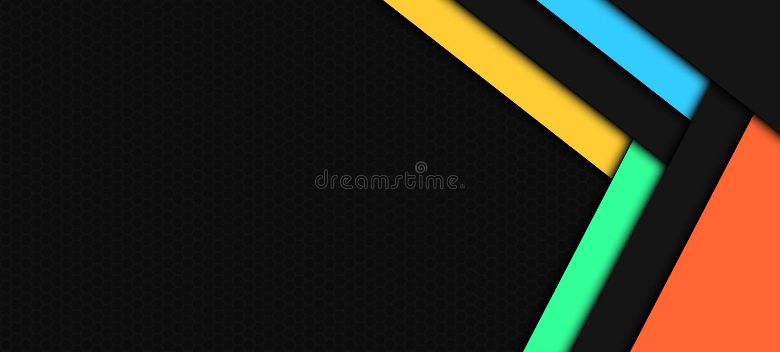 Abstract Background Material Design royalty free stock image