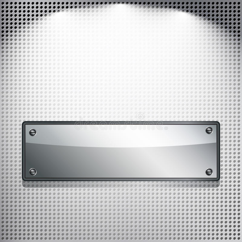 Download Abstract Background. Metal Banner. Stock Photography - Image: 19396912