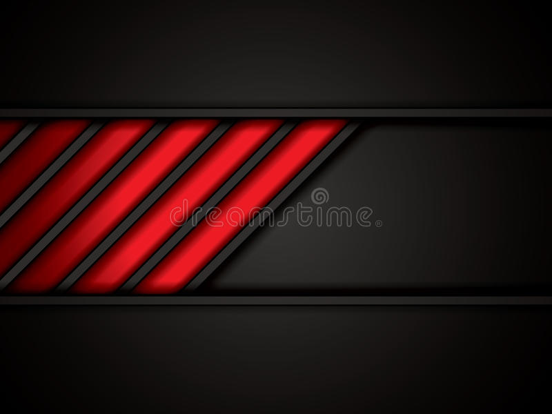 Abstract background. Metallic red brochure, vector royalty free illustration