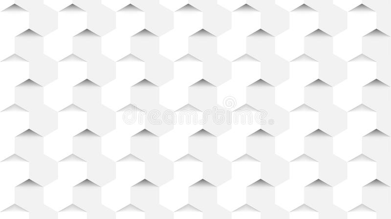 Abstract background in modern style. Hexagons concept. Vector royalty free illustration