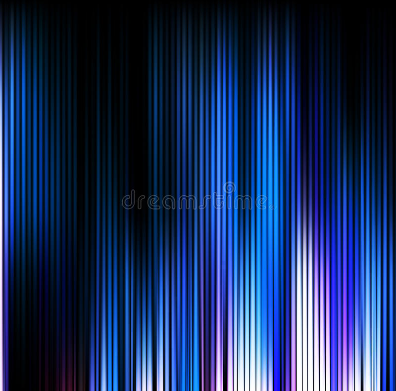 Abstract background. Motion blue vertical lines vector illustration