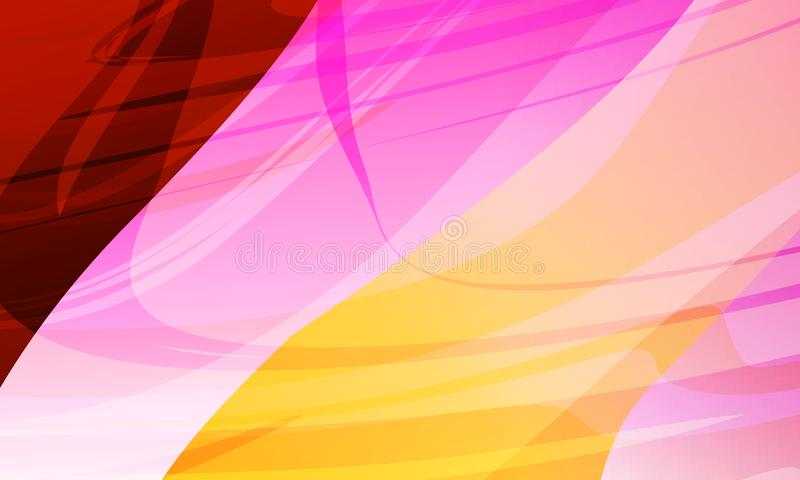 Abstract background multicolored shaded curve background, vector illustration. Many uses for paintings,printing,mobile backgrounds, book,covers,screen savers royalty free illustration