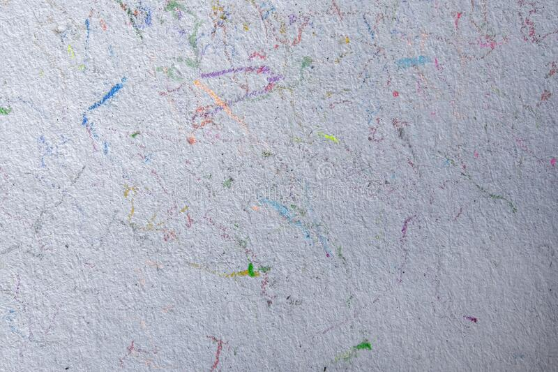 Abstract background od color pencil line on paper.  stock photography