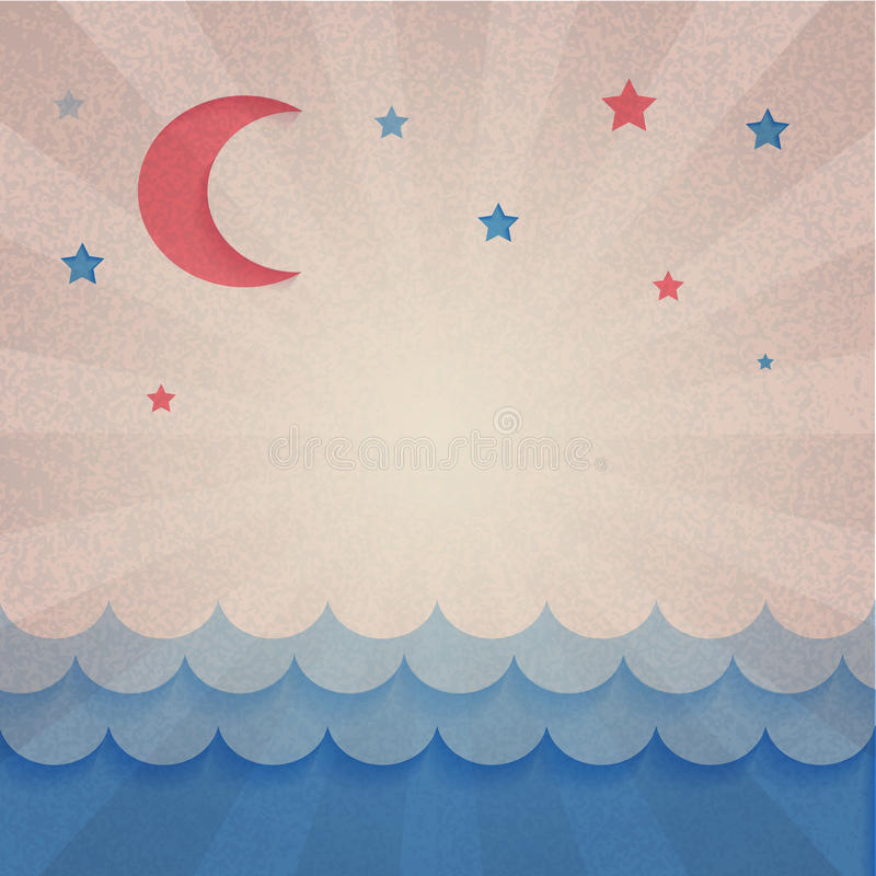 Abstract background. Old paper. Abstract retro background. Old paper vector illustration