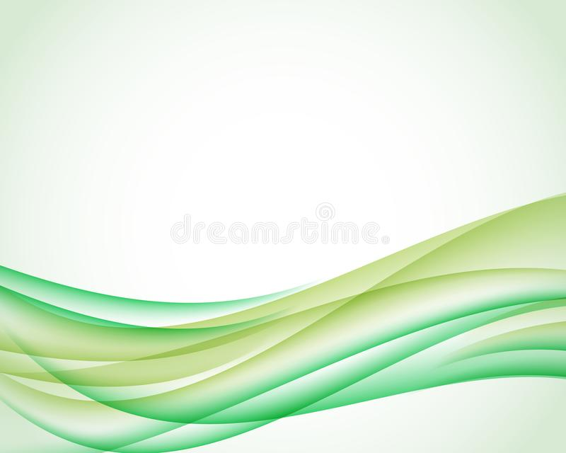 Abstract background with olive and green vertical smoth wave. Vector illustration for your web design or website. vector illustration