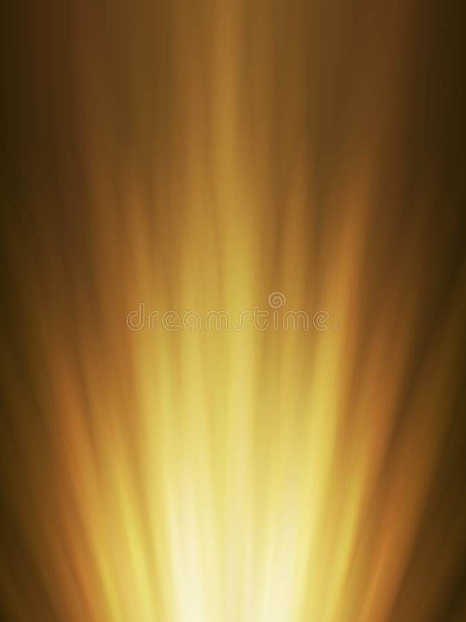 Abstract background of orange glowing ra. Abstract background of orange glowing explosion rays
