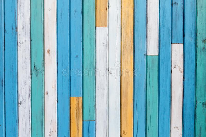 Abstract background of painted boards stock photography