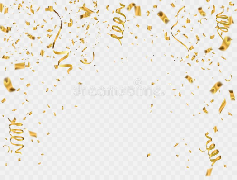 Abstract background party celebration ribbon foil vector illustration