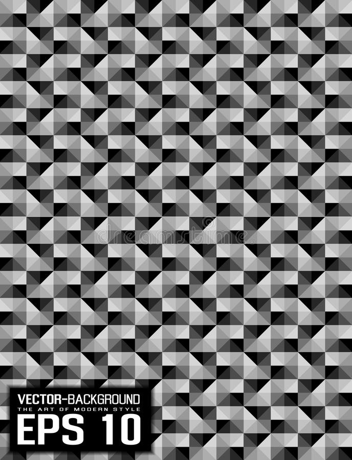 Free Abstract Background Patten Mosaic Grey Royalty Free Stock Photo - 66336755