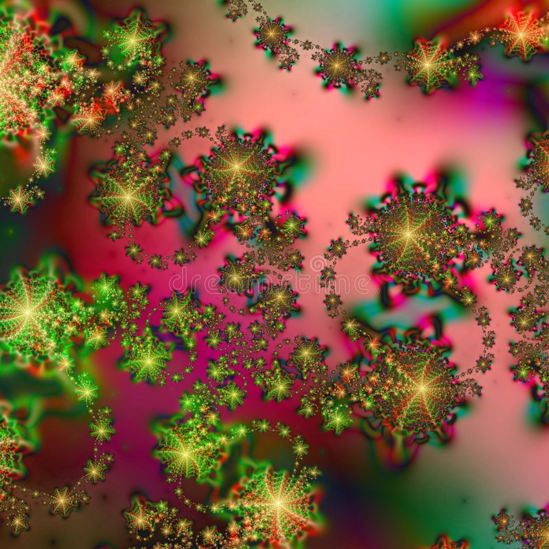 Abstract Background pattern in Christmas Holiday Colors stock illustration