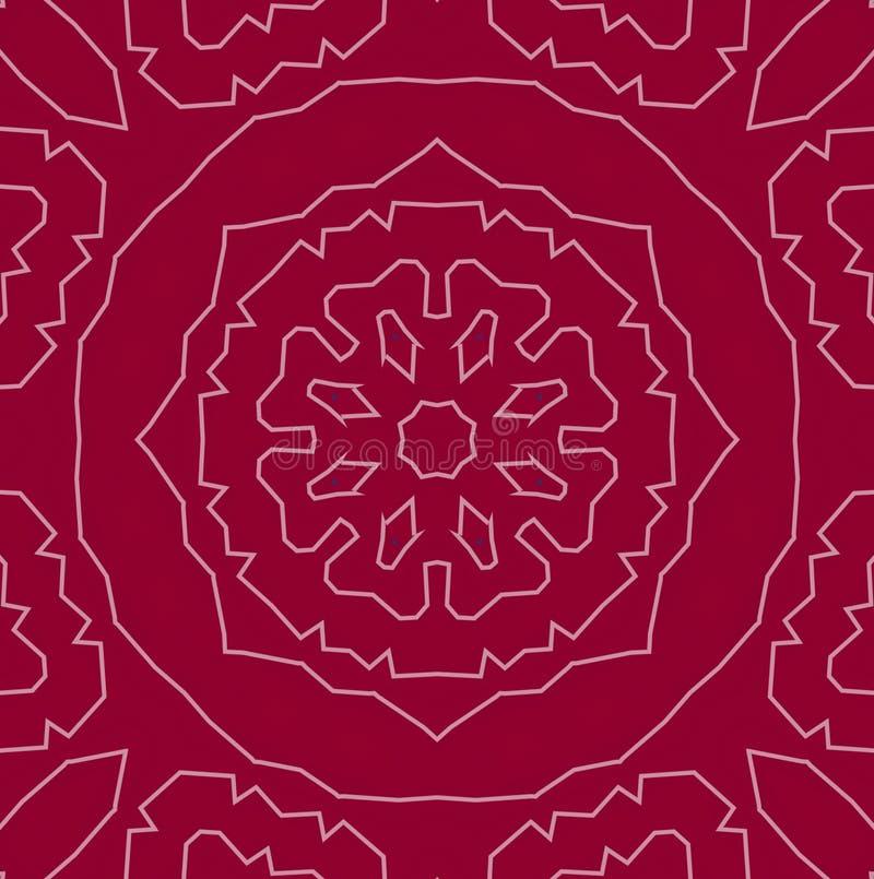Abstract background pattern, kaleidoscope vector illustration