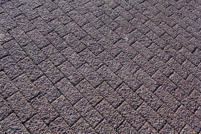 Abstract background. Paved sidewalk. Brick. Paved sidewalk. can be used as background stock image