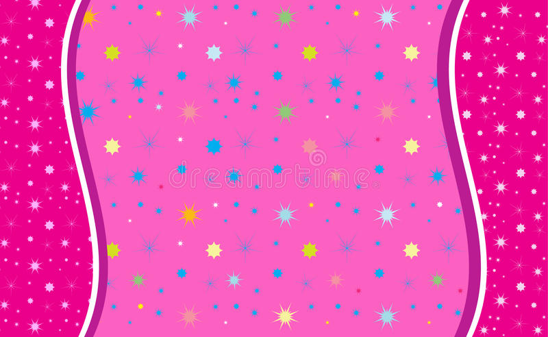 Abstract background pink color,. Abstract background, pink color. Vector. Abstract Pink shapes on pink background. For creating beautiful greeting card, art, web royalty free illustration