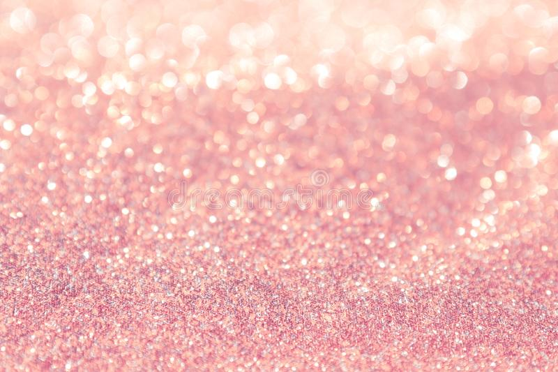 Abstract background pink light bokeh christmas holiday royalty free stock photos