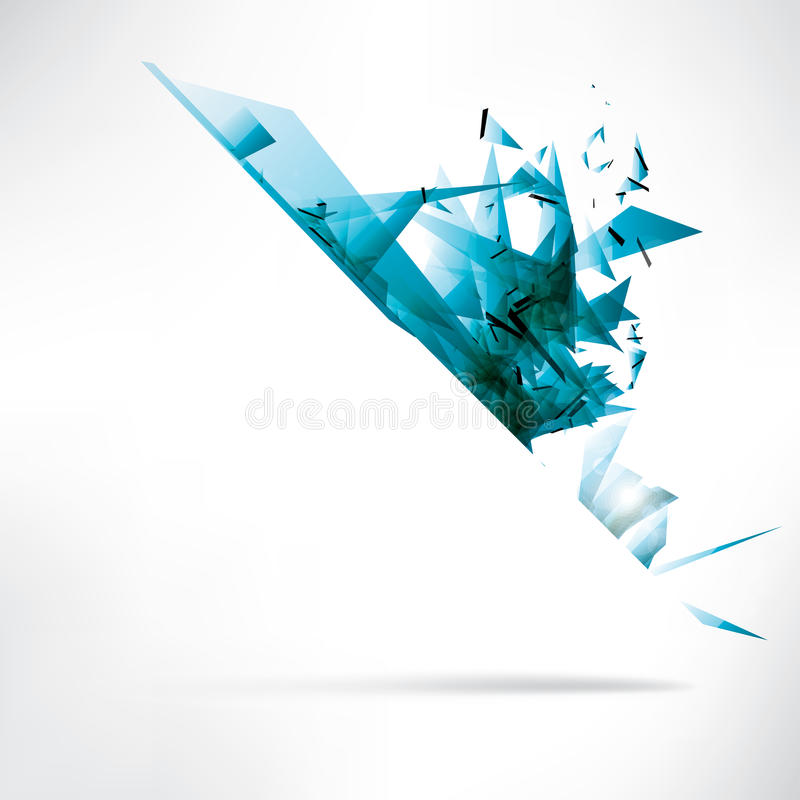 Abstract background with place for text stock illustration