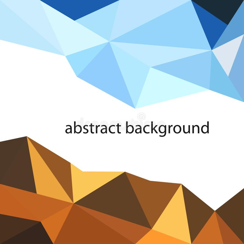 Abstract background polygon,triangle,design,modern style,vector,illustrations stock illustration
