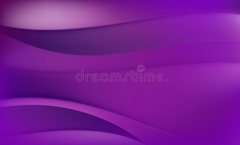 Abstract Background. Purple and Violet Waves vector illustration