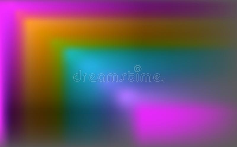 Abstract background Rainbow colors, colorful banner templates Easy vector illustration royalty free illustration