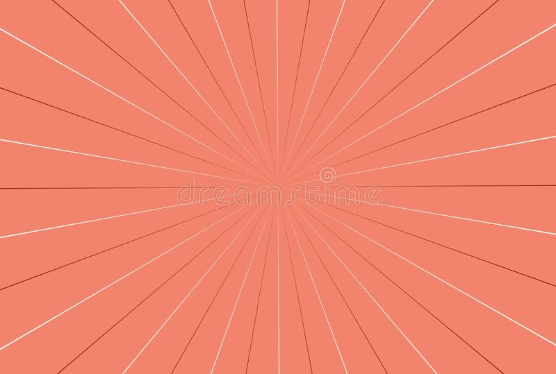 Abstract background with rays on pink. Illustration, design, graphic, comic, book, vintage, creative, art, concept, wall, wallpaper, backdrop, decor royalty free stock photography