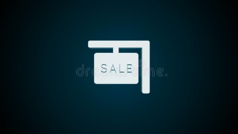 Abstract background with Real estate icon vector illustration