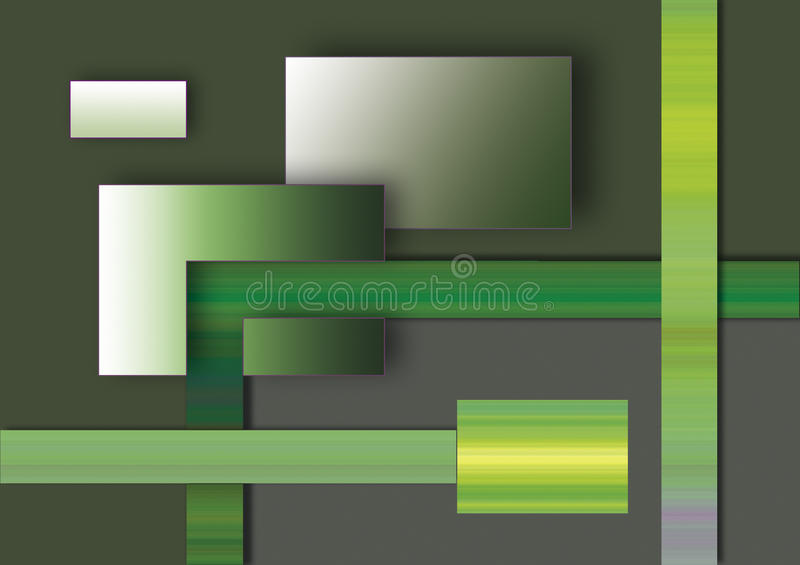Download Abstract Background Rectangles Stock Illustration - Image: 12571332