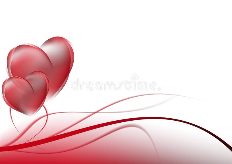 Abstract background red curves. vector illustration