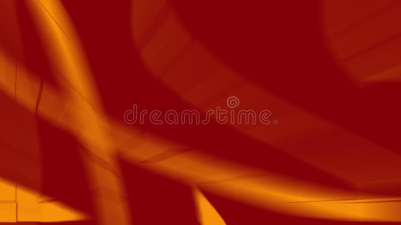 Abstract background with red yellow lines royalty free illustration