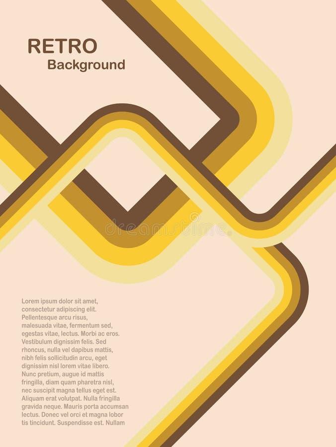 abstract background retro yellow ελεύθερη απεικόνιση δικαιώματος