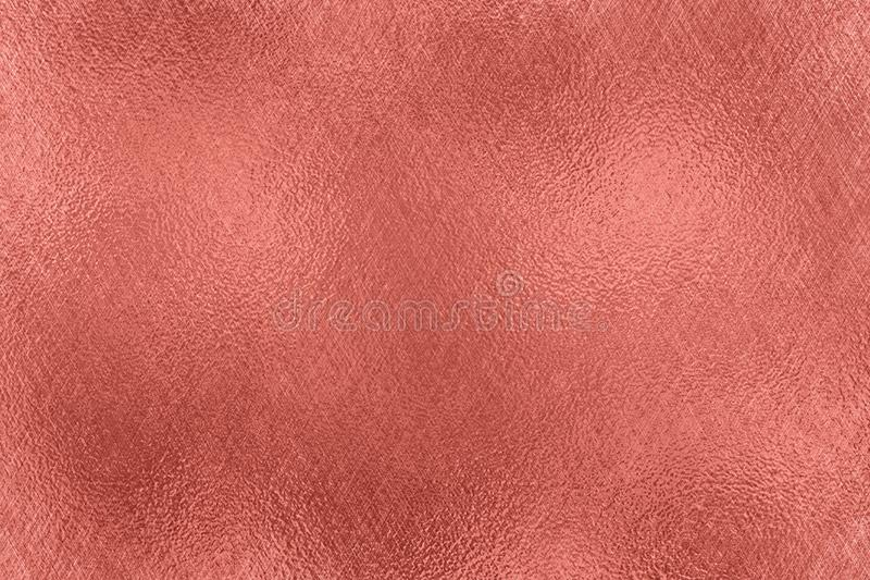 Abstract background. Rose Gold foil texture. royalty free illustration